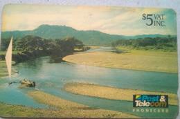 04FJC Inland River $5 - Fiji