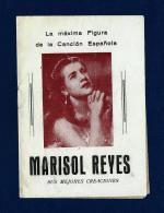 Cancionero - Marisol Reyes (años 50) - Programas
