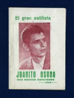 Cancionero - Juanito Osuna (años 50) - Programas