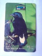 09FJC Bird Series $5 - Fiji
