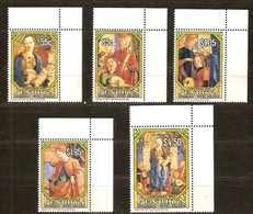 Penrhyn 1993 Yvertn° 402-406 *** MNH Cote 17,50 Euro Noël Christmas Kerstmis - Penrhyn