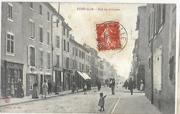 Lunéville    Rue  Des Bosquets   CPA 1907 - Luneville