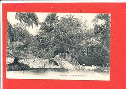 SAIGON  Cpa Animée Au Jardin Botanique - Vietnam
