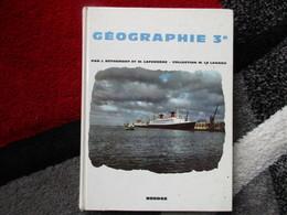 """Géographie """"Classe De 3e"""" (J. Béthemont Et M. Laferrère) éditions Bordas De 1964 - Books, Magazines, Comics"""