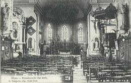 Hove  -   Binnenzicht Der Kerk  -   1914  Naar   Berlaer - Hove