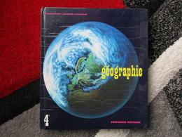 """Géographie """"Classe De 4e"""" L'europe (Moins La France) L'asie Soviétique / éditions Fernand Nathan De 1971 - Books, Magazines, Comics"""