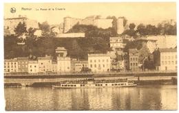 Belgique - Namur - La Meuse Et La Citadelle - Vues Choisies De La Vallée De La Meuse - Ern. Thil Bruxelles - 5820 - Namur