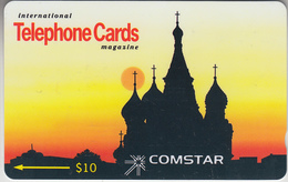 USA - PHONE CARD - TAXCARD   ***   COMSTAR: TELEPHONE CARDS - 10$  *** - United States