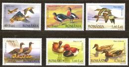 Roumanie Roemenie 2007 Yvertn° 5229-5234 *** MNH Cote 12 Euro Faune Oiseaux Vogels Birds - Zonder Classificatie