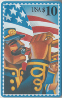 USA - PHONE CARD - TAXCARD   ***   POSTAL & MUSIQUE - 10$  *** - United States