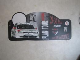 PLAQUE DE RALLYE   LE 12 EME PLAN DE LA TOUR 2010 - Plaques De Rallye