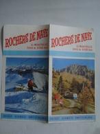 ROCHERS DE NAYE. S/MONTREUX - SWITZERLAND, VAUD, 1970 APROX. 8 PAGE BROCHURE. - Dépliants Touristiques