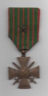 Médaille Militaire . Croix De Guerre .1914-1918 . 1 Citation ; - Armée De Terre