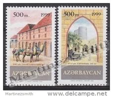 Azerbaidjan - Azerbaijan - Azerbaycan 1999 Yvert 392A-92B, The Silk Route - MNH - Azerbaïjan