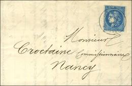 Càd ENGHIEN-LES-BAINS 10 MAI 71 / N° 46 Sur Lettre Avec Texte Daté De Paris Le 9 Mai 1871 Acheminée Par Passeur Et Remis - Oorlog 1870