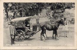 Mail TONGA Naini Tal.  Attelage Chevaux      (104624) - Tonga