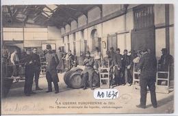 NANTES- QUAI DES ANTILLES- BUREAU DES  ENTREPOTS DES LIQUIDES- STATION-MAGASIN- 1914 - Nantes