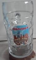 Boccale Di Vetro Monaco Da 1 Litro - Vasellame, Bicchieri E Posate