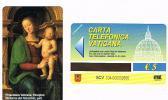 VATICANO-VATICAN-VATICAN CITY  CAT. C&C     6104 - MADONNA DEI DECEMVIRI, PART. PERUGINO - Vatican
