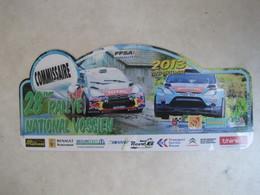 PLAQUE DE RALLYE    28 EME RALLYE NATIONAL VOSGIEN  2013 - Plaques De Rallye