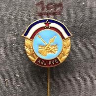 Badge (Pin) ZN006834 - Military (Army) ARJ PVO Aviation And Air-Defense Yugoslavia - Militaria