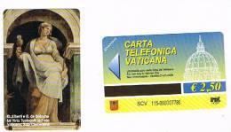 VATICANO-VATICAN-VATICAN CITY  CAT. C&C    6115 - LE VIRTU' TEOLOGALI: LA FEDE. C.ALBERTI E B. DA BOLOGNA - Vatican