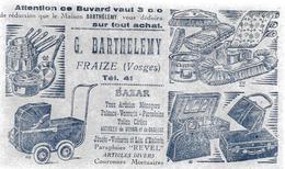 FRAIZE Vosges BUVARD G. BARTHELEMY BazAR - Wash & Clean