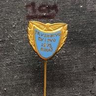 Badge (Pin) ZN006836 - Military (Army) RV PVO Aviation And Air-Defense Yugoslavia Championships 1975 - Militaria