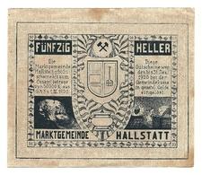 1920 - Austria - Hallstatt Notgeld N15, - Austria