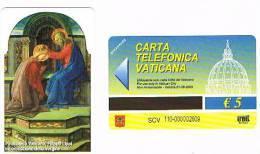 VATICANO-VATICAN-VATICAN CITY  CAT. C&C   6110 - FILIPPO LIPPI.INCORONAZIONE DELLA VERGINE - Vatican