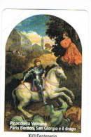 VATICANO-VATICAN-VATICAN CITY  CAT. C&C  6107 - 16^ MARTIRIO SAN GIORGIO . SAN GIORGIO E IL DRAGO.PARIS BORDON - Vatican
