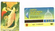 VATICANO-VATICAN-VATICAN CITY  CAT. C&C  6113 - S.GIOVANNI BATTISTA E L'ANGELO (PART.). GIOVANNI BARONZIO - Vatican