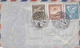 Chile Cover Sent To Yugoslavia , Valparaiso 1954 - Chile