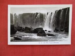 Chile  RPPC   Salto Del Rio Laja    Ref 2923 - Chile