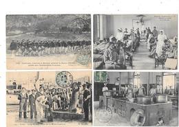 10719  - LOT De 4 CPA  Militaria - Guerra 1914-18