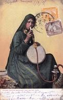 Hôpital Français Egypte Egypt 1907 Abbassia Narguilé Tabac Water Pipe Page Hookah Chicha - Tobacco