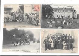 10720  - LOT De 4 CPA  Militaria - Guerra 1914-18