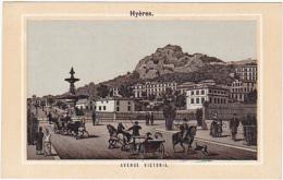 Chromo - Grands Magasins Lyonnais, Beaune - Hyères, Avenue Victoria - Autres