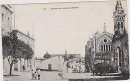 Cpa,mexique,cuernavaca,calle  De Hidalgo,église,capitale De L'état De Morélos Au Mexique,rare - Mexique