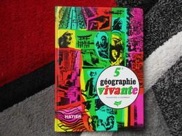 """Géographie Vivante """"Classes De 5e"""" Les Pôles - L'Amérique - L'Asie - L'Océanie (F.-J. Gay) éditions Hatier De 1970 - Books, Magazines, Comics"""