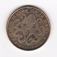 MDP Monnaie De Paris , BIARRITZ 64BIA1/00 Musée De La Mer 2000 N°1 Rare Jeton Médaille - Monnaie De Paris