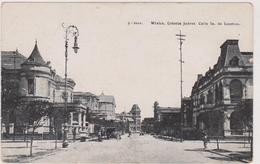 Cpa,mexique,méxico,colnia   Juarez Calle La De Londres,lampadaire Immense,architecture Anglaise - Mexique