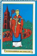 Holycard    St.  Leonardus - Devotion Images