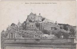 Cpa,mexique,mexico,villa De Guadalupe,vista General Del Tepeyac,la Classe En 1900,rare - Mexique