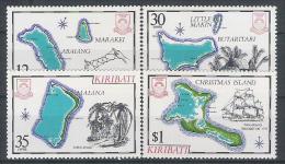 Kiribati  N° YVERT 46/49 NEUF ** - Kiribati (1979-...)