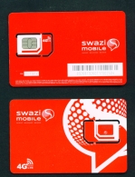 SWAZILAND  -  Mint/Unused SIM Phonecard With Chip Similar To Scan - Swaziland