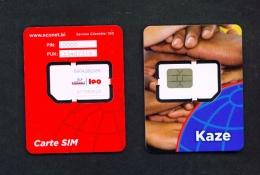 BURUNDI  -  Mint/Unused SIM Phonecard With Chip Similar To Scan - Burundi
