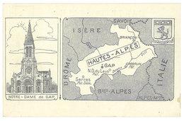 Cpa Notre-Dame De Gap ( N.D. Du Laus  / Hautes Alpes ) - Gap