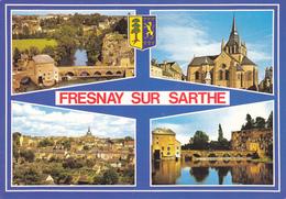 72 FRESNAY SUR SARTHE / MULTIVUES / BLASON - France