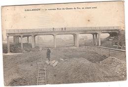 CPA Gallardon Le Nouveau Pont Du Chemin De Fer En Ciment Armé 28 Eure Et Loir - Autres Communes